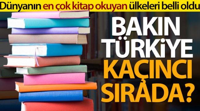 Ne Türkiye ne Almanya ne Hollanda bakın dünyanın en çok kitap okuyan ülkesi kim çıktı?