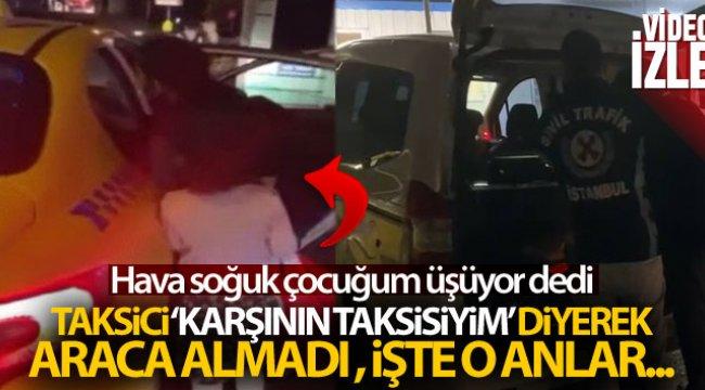 O taksici bulunup ceza yazıldı